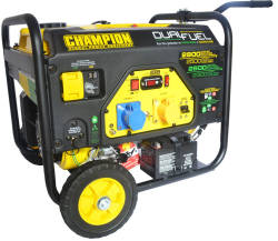 Champion generator cpg3500 dual fuel