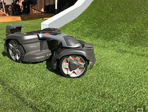 Husqvarna 435x Awd Four Wheel Drive Automower Newry